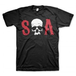 Camiseta Sons of Anarchy negra