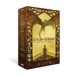 DVD Juego De Tronos (Temporada 5)