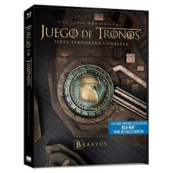 Blu-ray Juego De Tronos (Temporada 6)