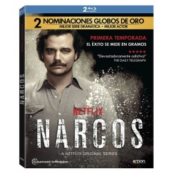 Blue-ray narcos (Temporada 1)