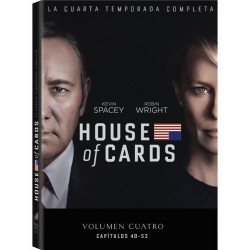 DVD House of Cards (Temporada 4)