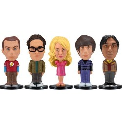 Pack de 5 mini figuras de The Big Bang Theory