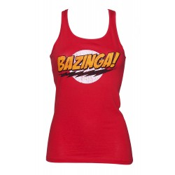 Camiseta de tirantes Bazinga de The Big Bang Theory