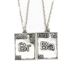 Par de collares de metal de Breaking Bad