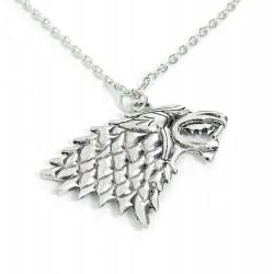 Collar Stark House Crest de Juego de Tronos