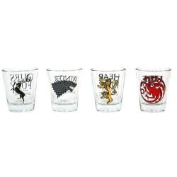Set de 4 vasos chupito de Juego de Tronos