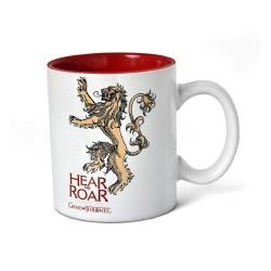 Taza de cerámica Hear me Roar Casa lannister de Juego de Tronos