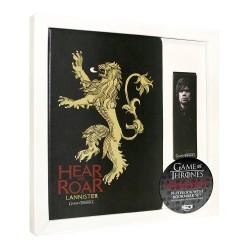 Libreta y marcapáginas Casa Lannister Juego de Tronos