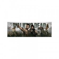 Poster Puerta The Walking Dead-Banner