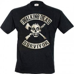 Camiseta Walking Dead The survivor