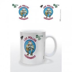 Taza Breaking Bad Los hermanos pollos