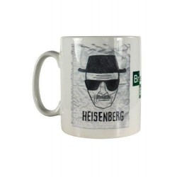 Taza Breaking bad Heisenberg wanted