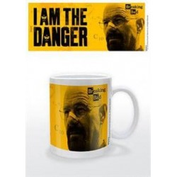 Taza I am the Danger Breaking Bad